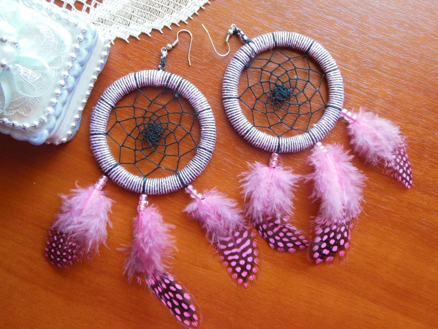 Индейский амулет ловец снов