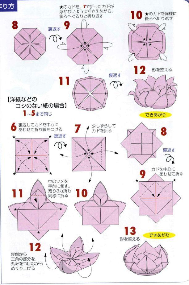 Как делать цветы-оригами: подробные мастер-классы