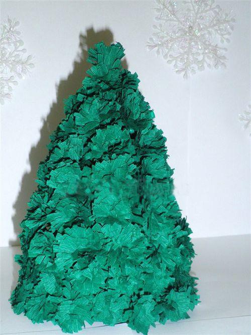Мастер-класс: новогодняя елка из бумаги своими руками