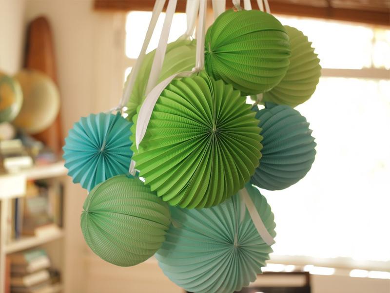 Как сделать шар из бумаги: 120 фото лучших вариантов изготовления бумажного шара