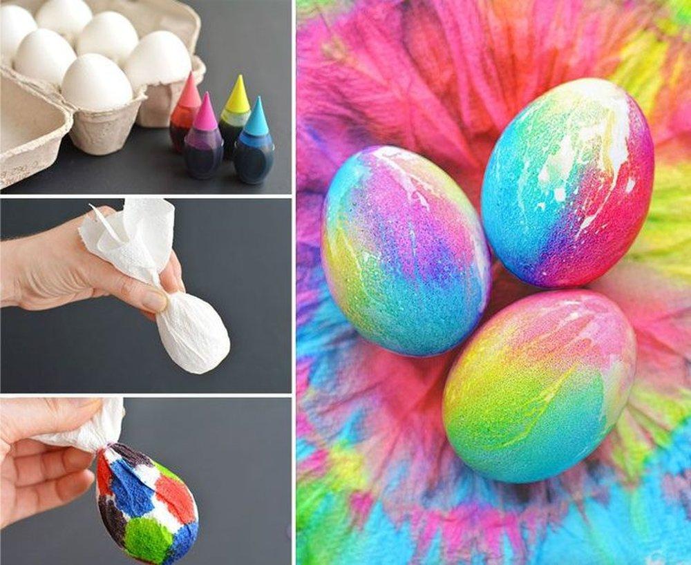 Яйца на пасху своими руками: 100 фото 20 способов как сделать пасхальные яйца