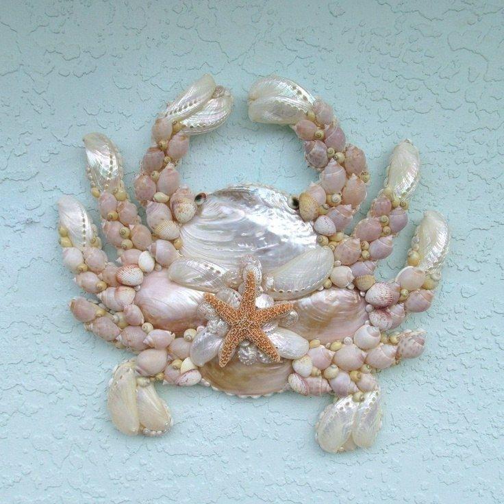 Декор из ракушек: панно своими руками