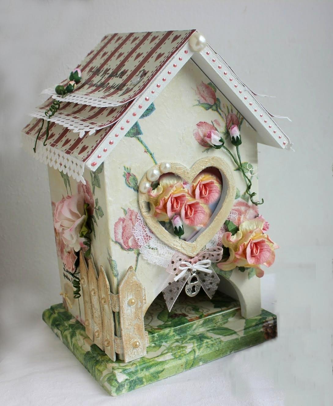Декупаж чайного домика (31 фото): мастер-класс для начинающих. как своими руками оформить салфетками домик из деревянных заготовок в стиле прованс пошагово? творческие идеи для оформления