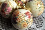 Декупаж новогодних шаров своими руками - пошаговый мастер-класс с фото примерами
