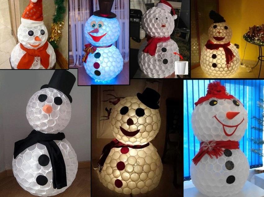 Как сделать снеговика :: инфониак