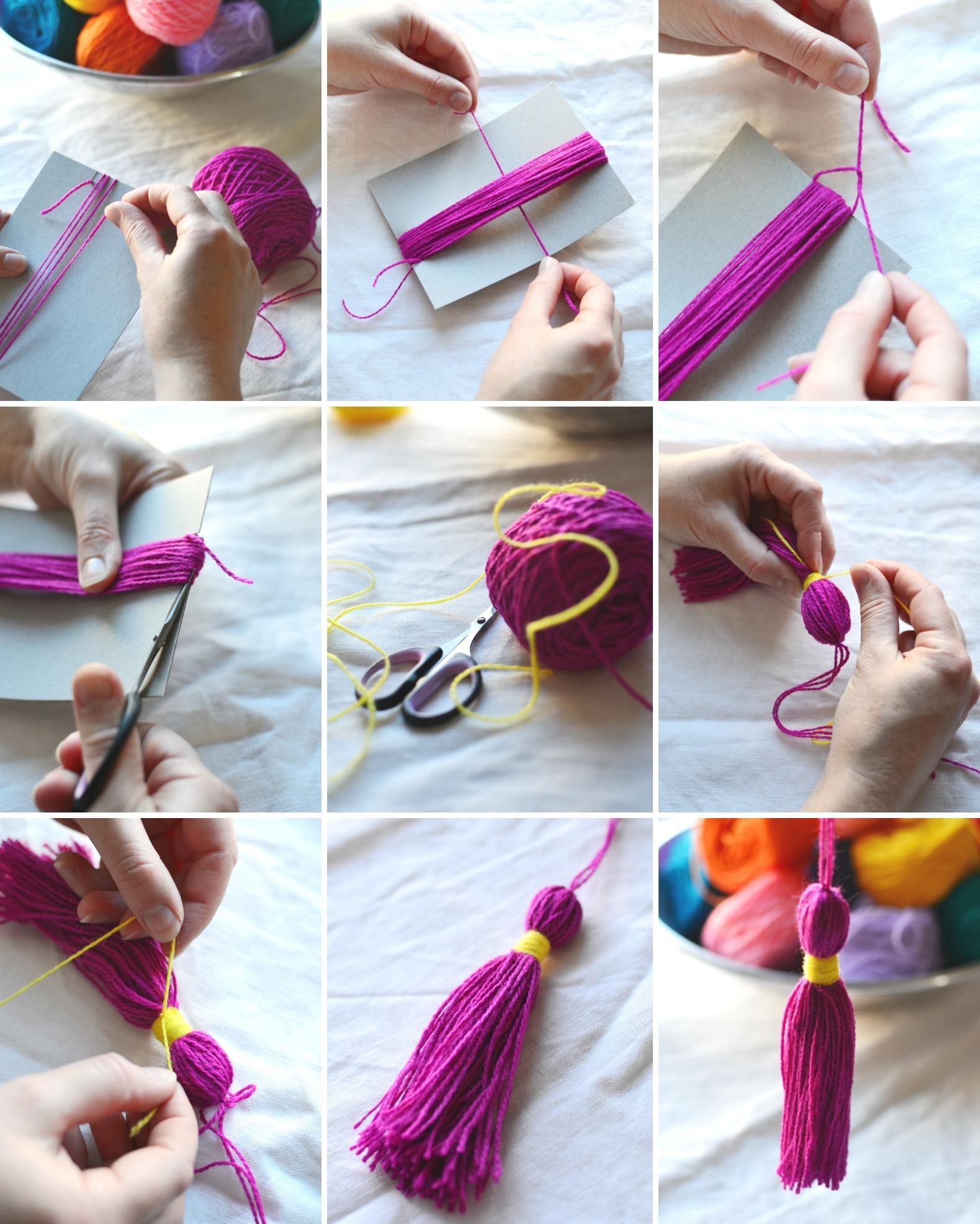 Поделки из ниток своими руками: креативные поделки из ниток пошагово