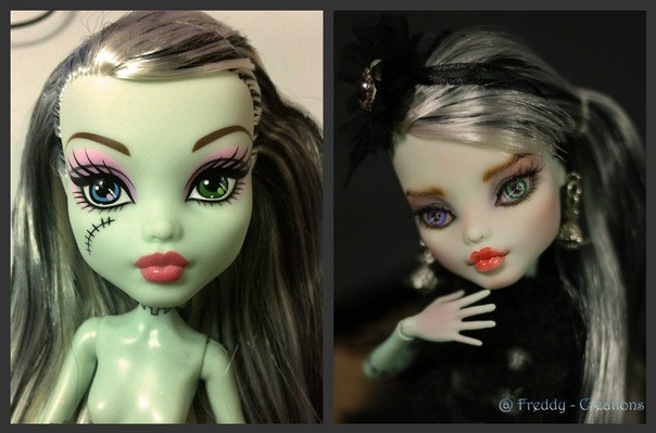 Демонесса ооак из старой куклы. демонесса ооак из старой куклы барби ооак до и после