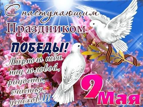 Поздравления с 9 мая (днем победы): проза, стихи (красивые смс)