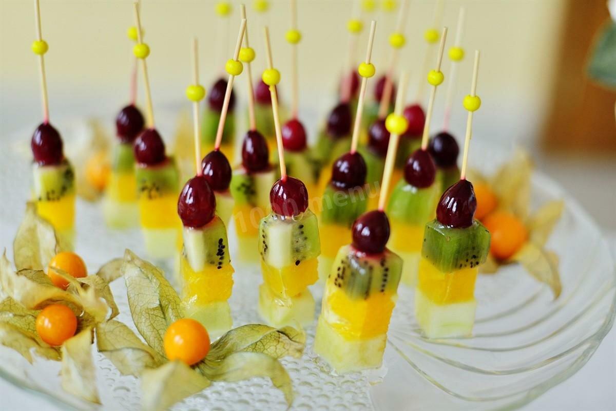 Фруктовые нарезки или как красиво нарезать и уложить фрукты