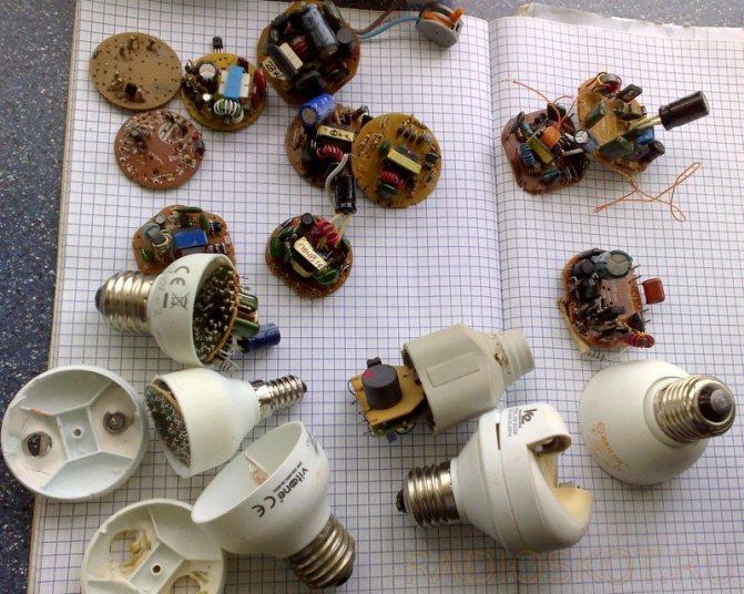 Обзор и модернизация светодиодной лампочки из китая - mobzon.ru