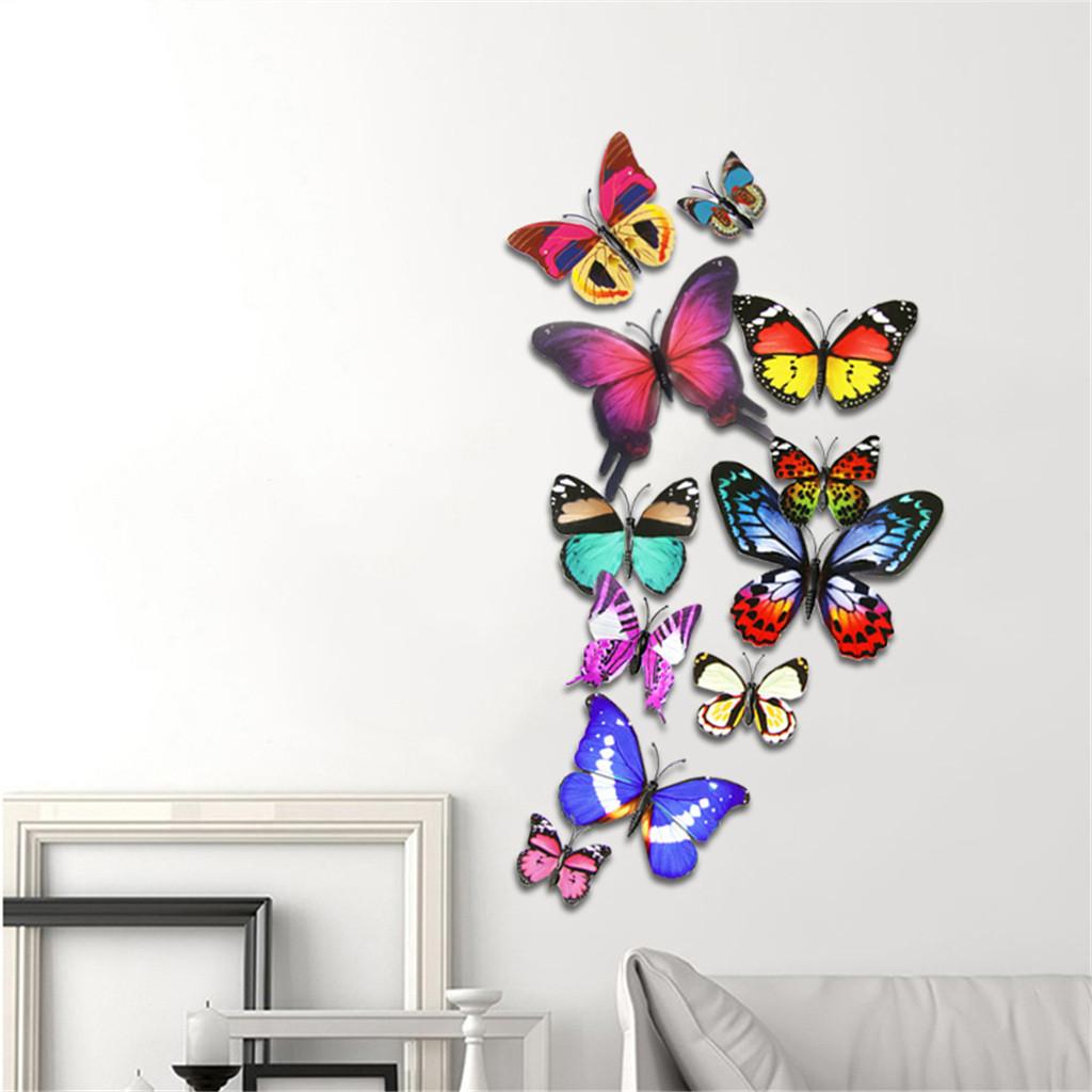 Бабочки на стену (75 фото) - идеи декора своими руками