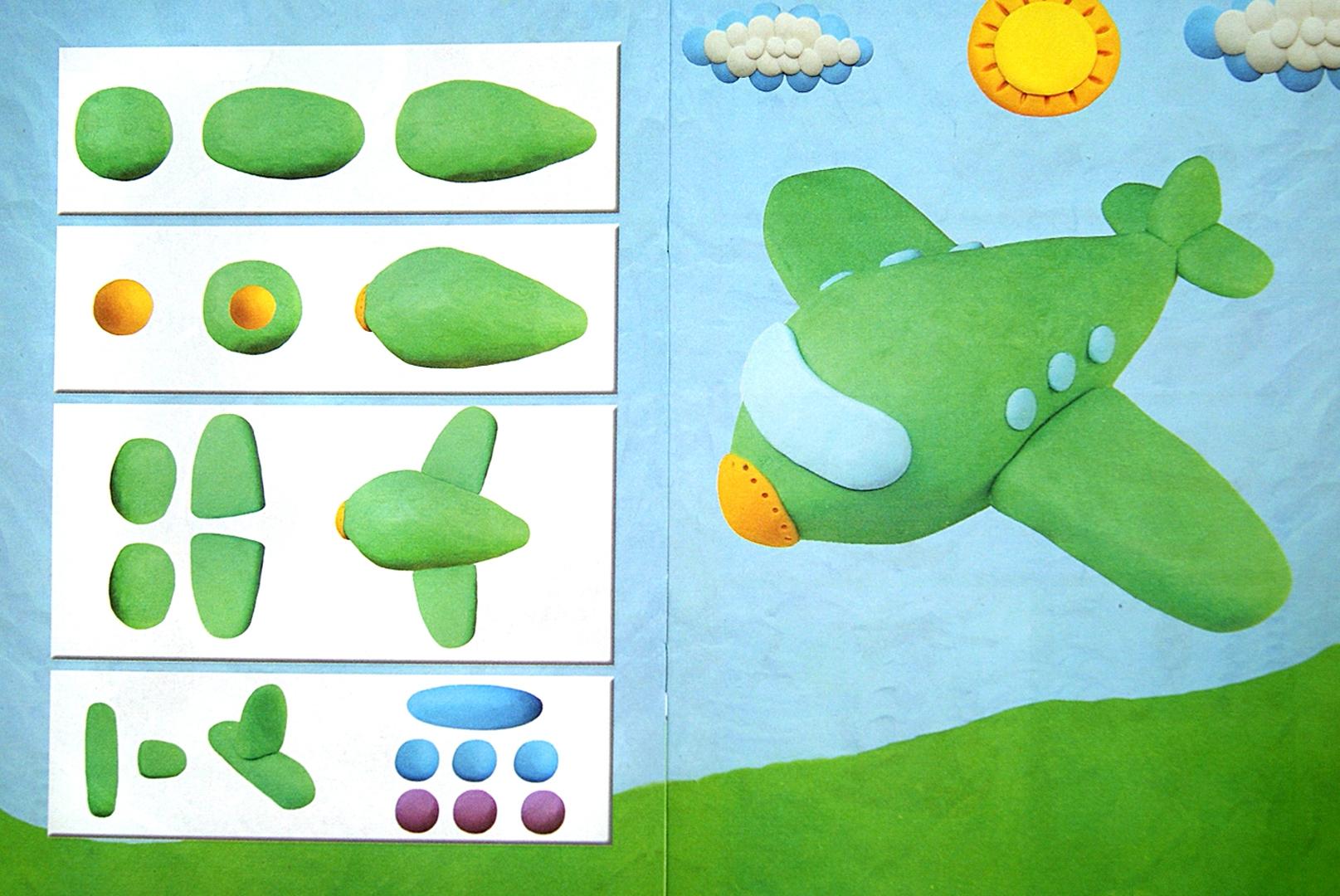 Увлекательная пластилинография для детей