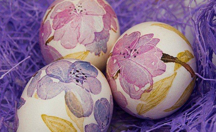 Декупаж пасхальных яиц — пошаговая инструкция с видео мастер классом украшения яиц на пасху