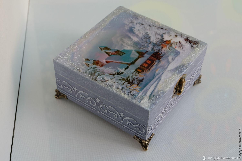 Декупаж коробок - мастер-класс и 105 фото примеров лучших работ