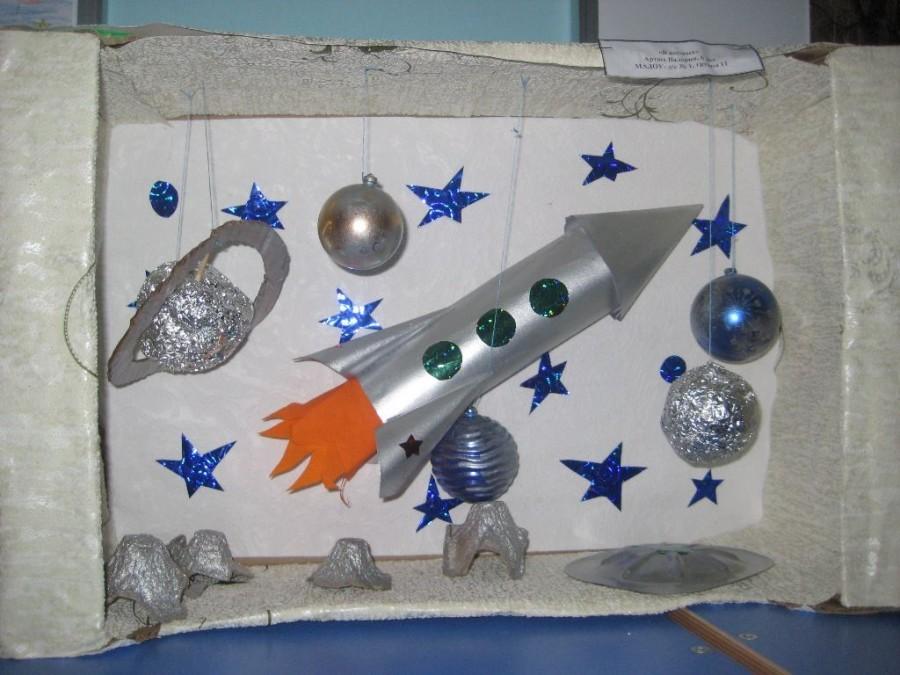 Ракета-носитель «восток» с кораблем — коробочка идей и мастер-классов