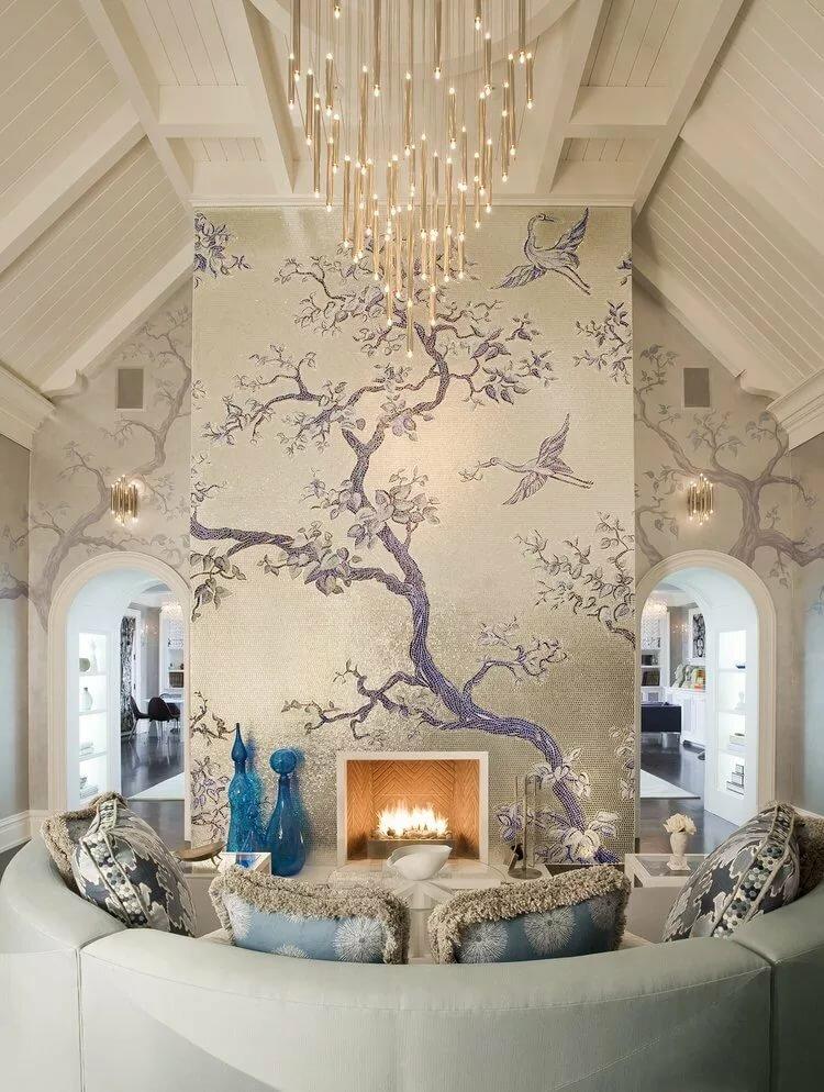 Декор стен своими руками: 100 лучших идей о том как преобразить домашний интерьер (фото, видео)