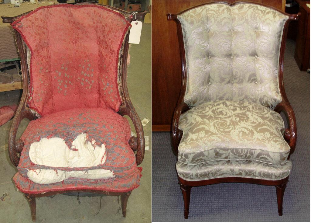 Как сделать ремонт и реставрацию старого кресла своими руками. перетяжка обивки - пошаговая инструкция