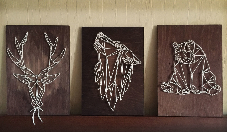 Видео уроки стринг арт – картины из гвоздей и ниток своими руками!