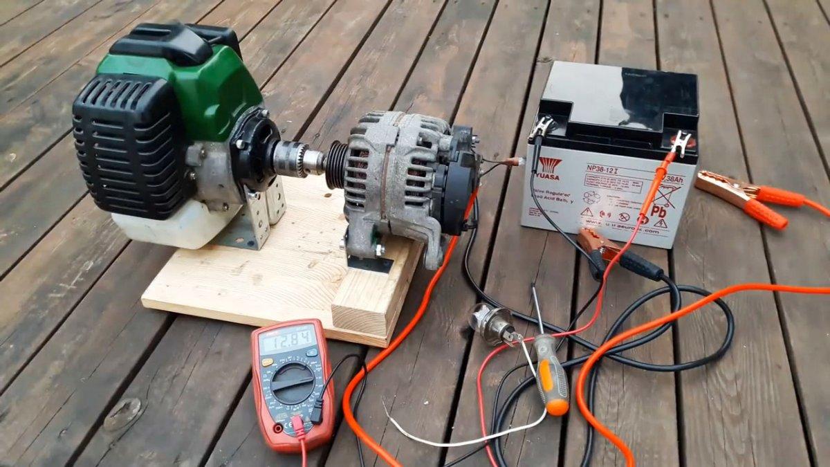 Электрогенератор своими руками - видео обзор готовых генераторов и рекомендации как сделать в домашних условиях самому