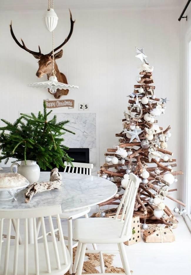 Альтернативная елка своими руками: мастер-классы по изготовлению елки из шишек, кружевной елки, плоской деревянной елки, елки из палочек для роллов